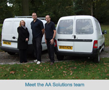 The AA Solutions team